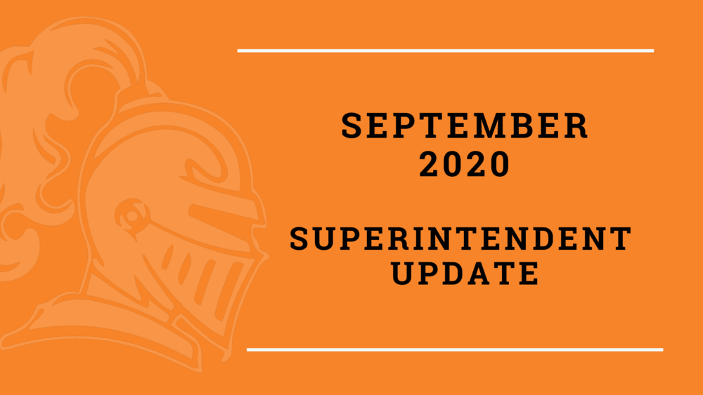 September Superintendent Update