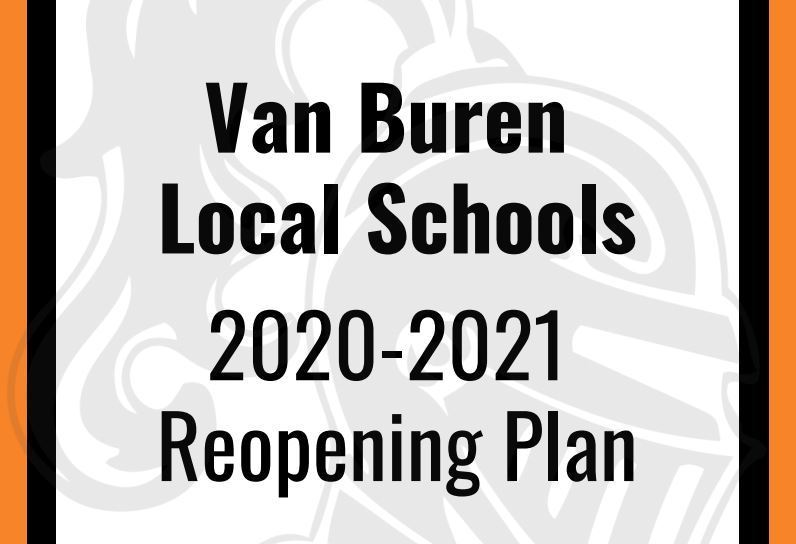Van Buren Local Schools Reopening Plan