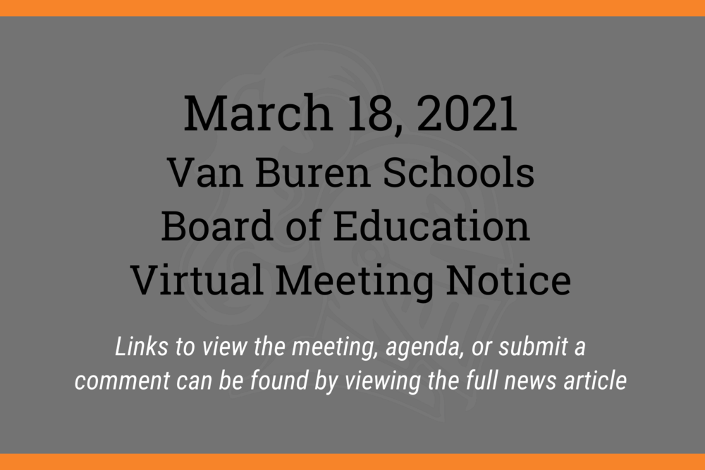 March 2021 Board of Education Meeting