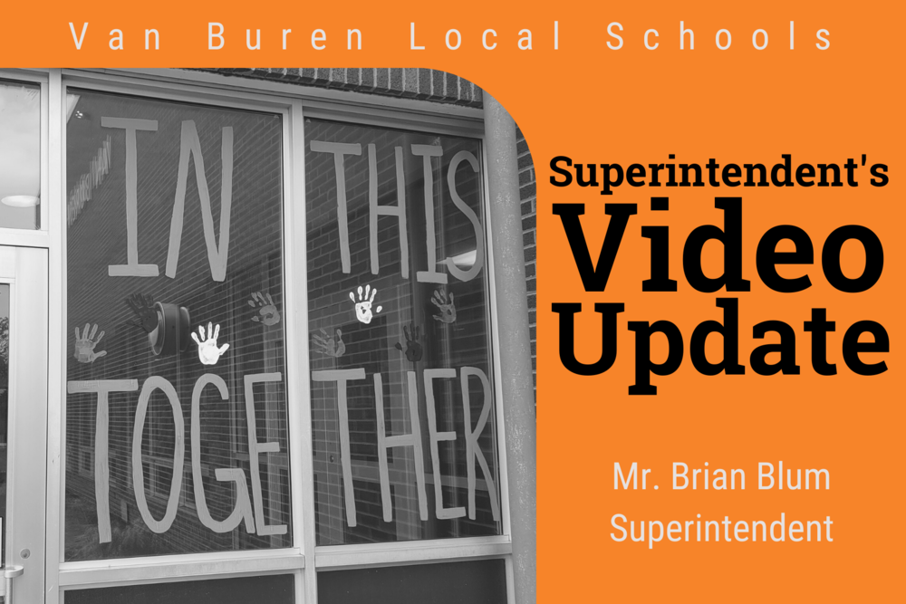 Superintendent's Video Update - 1/17/21