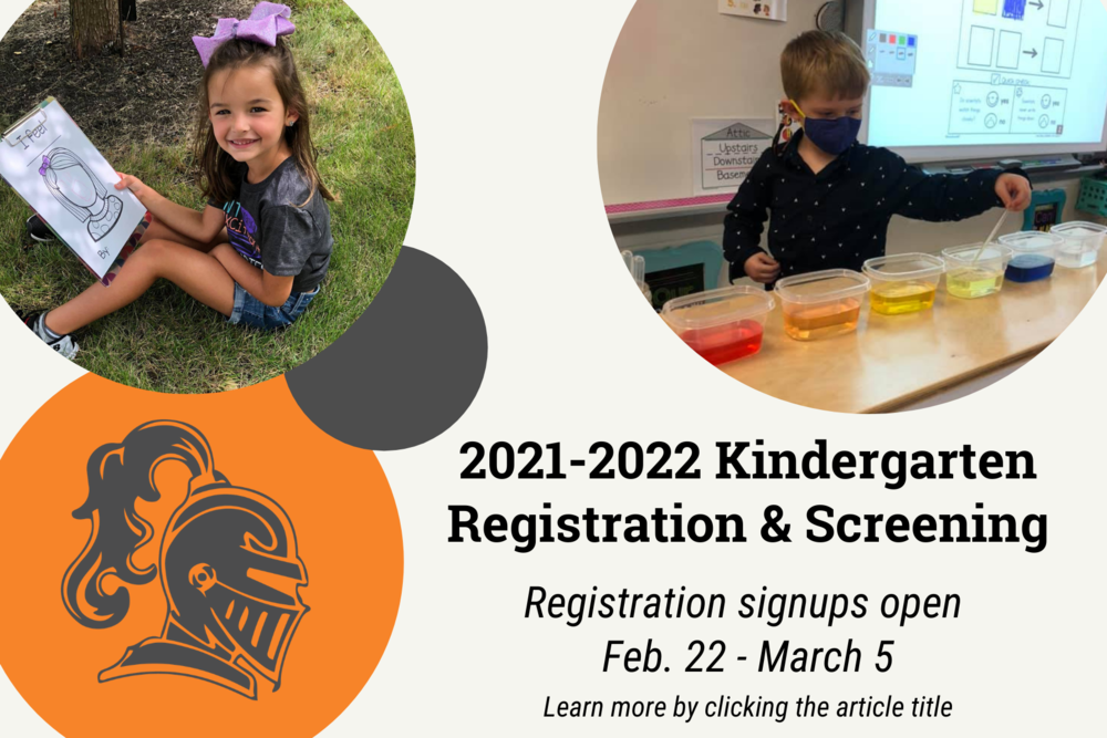 2021-2022 Kindergarten Registration & Screening Information