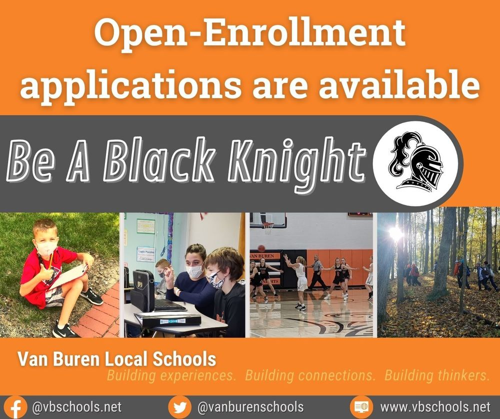 Van Buren Open-Enrollment period March 1-31