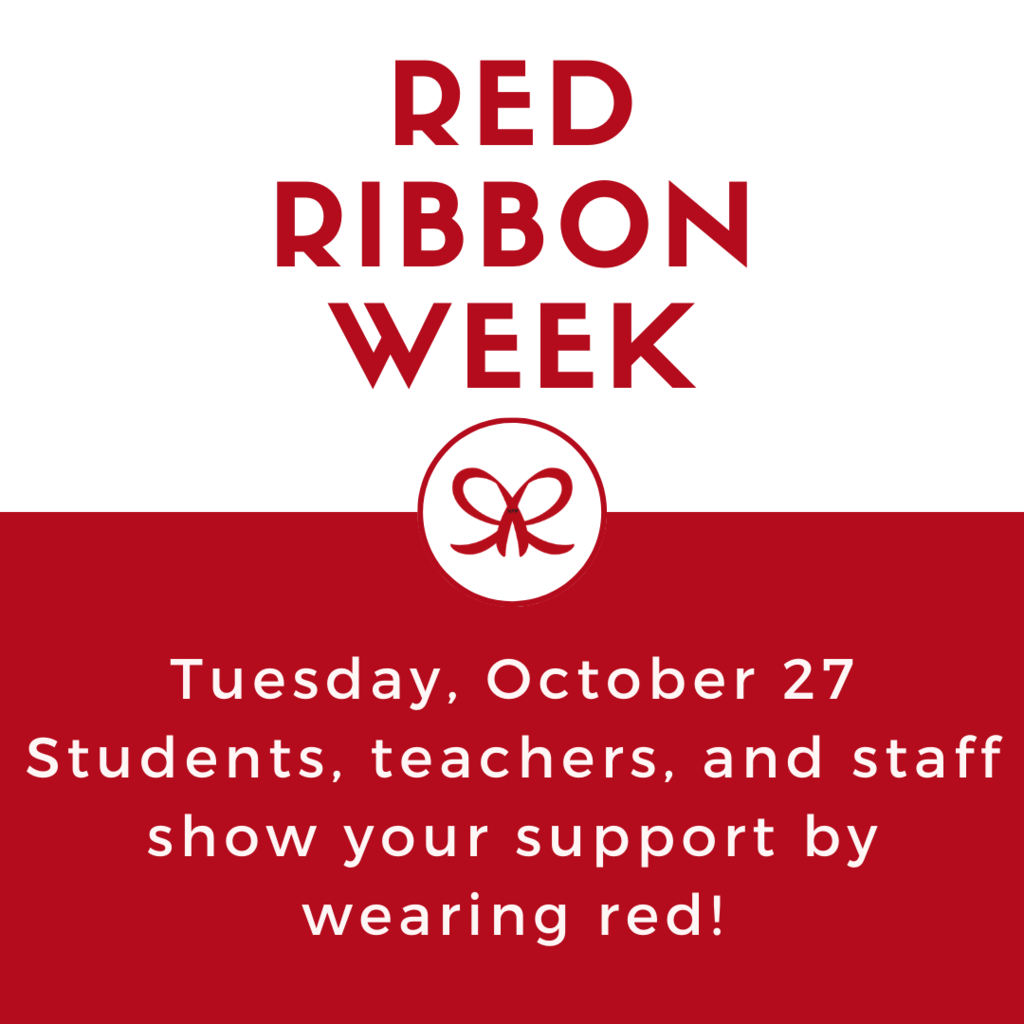 Red Ribbon Week - Wear Red