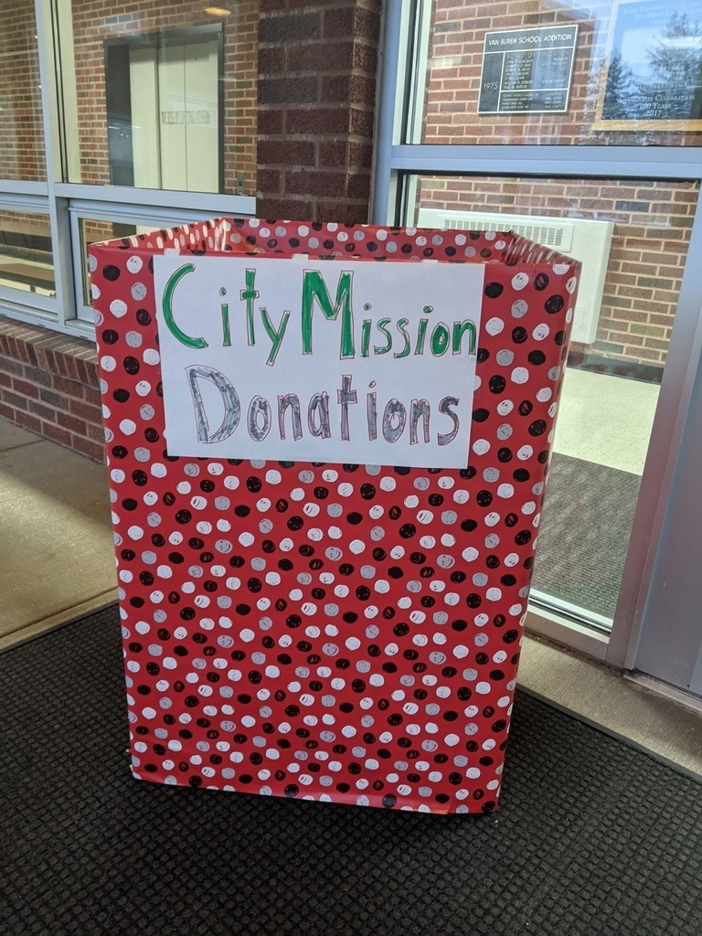 City Mission Collection Box