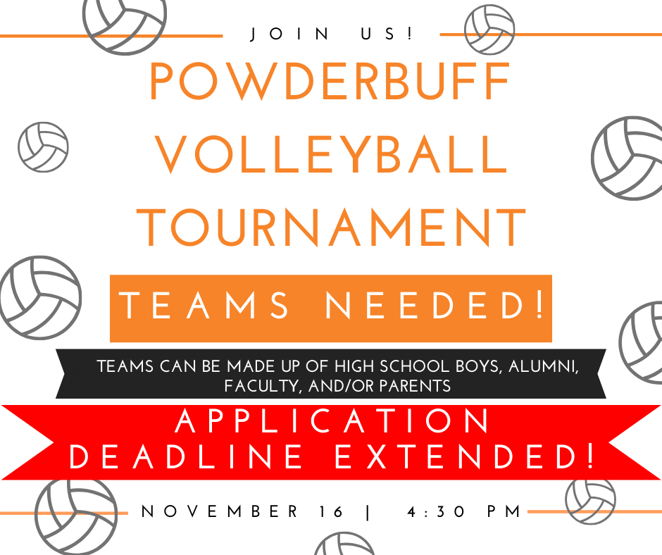 PowderBuff Tournament Flyer