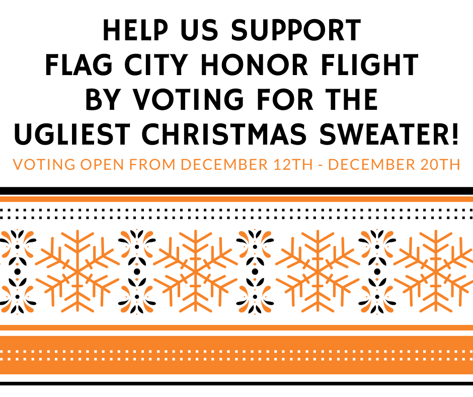 Ugly Christmas Sweater Flyer