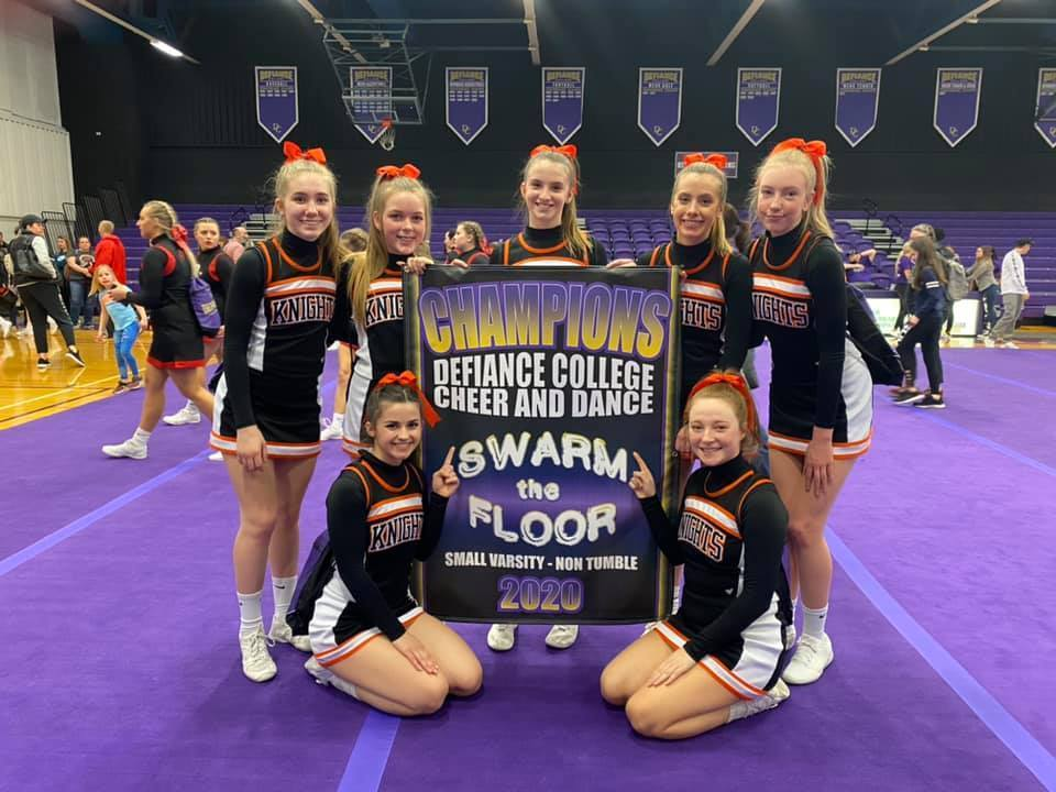 Competitive Cheer Squad 1st Place