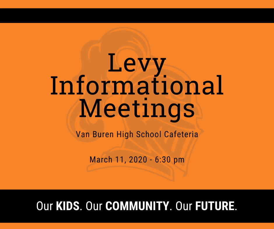 Levy Information Meeting Flier