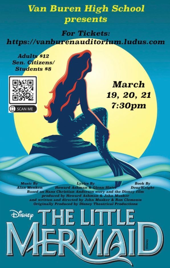 Little Mermaid Flier