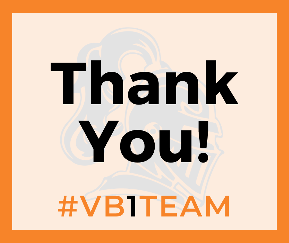 Thank You! #VB1Team