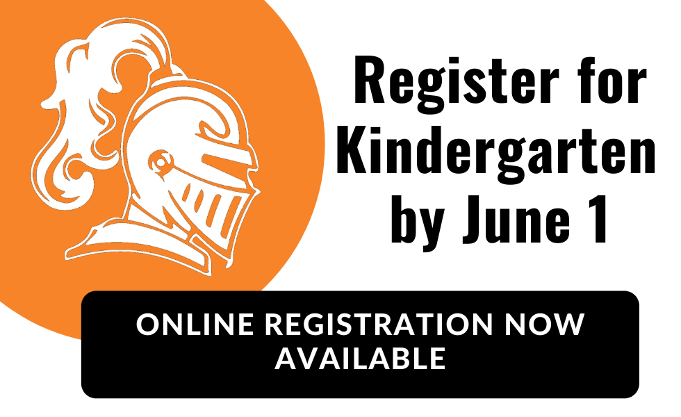 Register for Kindergarten by June 1