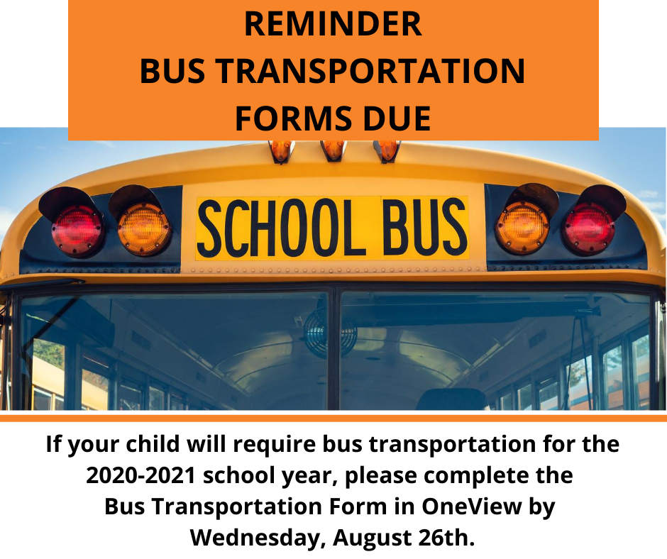 Bus transportation reminder